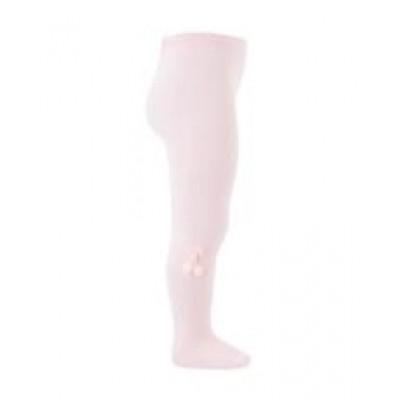 Pink Pom Pom Tights