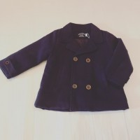 Boys Navy Pea Coat