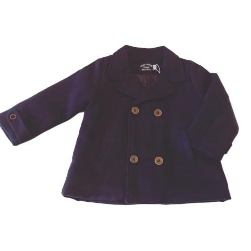Boys Navy Pea Coat