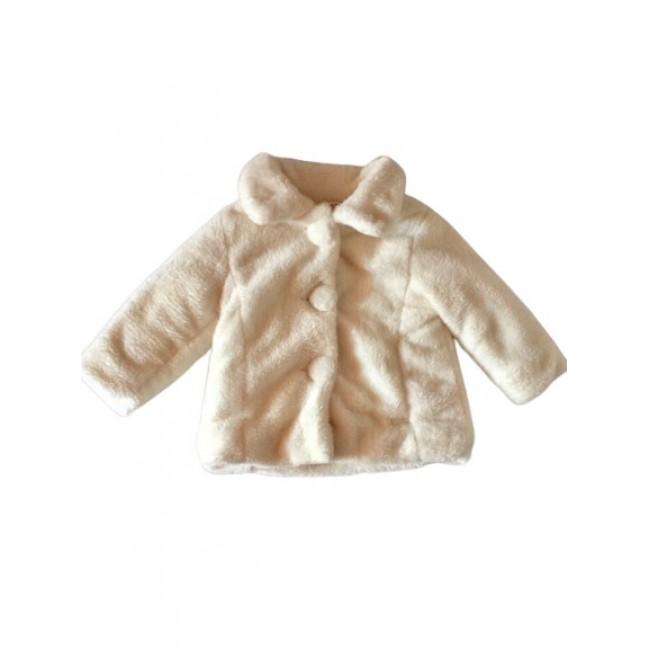 Baby Girls Cream Fur Coat - £18.99 - Kiddi Rockers Boutique a97189dcc300