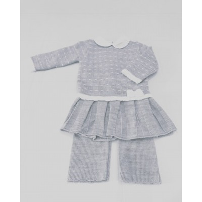 Girls Top & Trousers knit Set