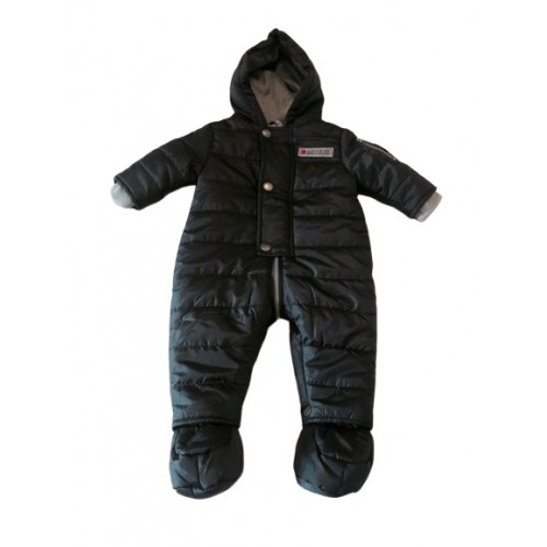 Boys Charcoal Grey Snow Suit