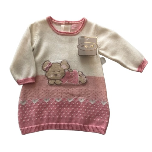 Baby Girls Knitted Jumper Dress