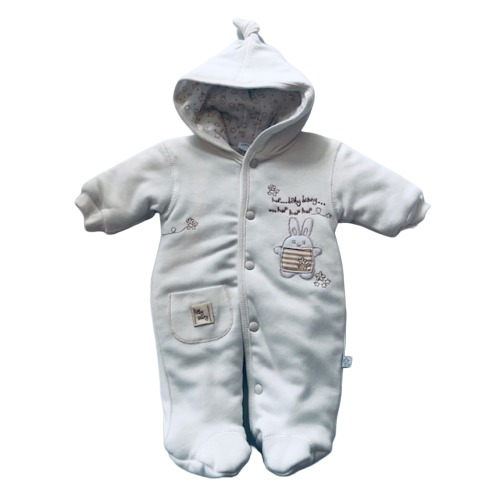 Early Baby! All In One Cream Pram Coat