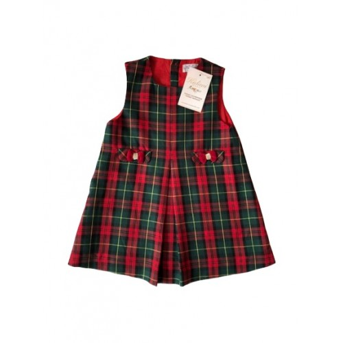 Red Tartan Girls Dress