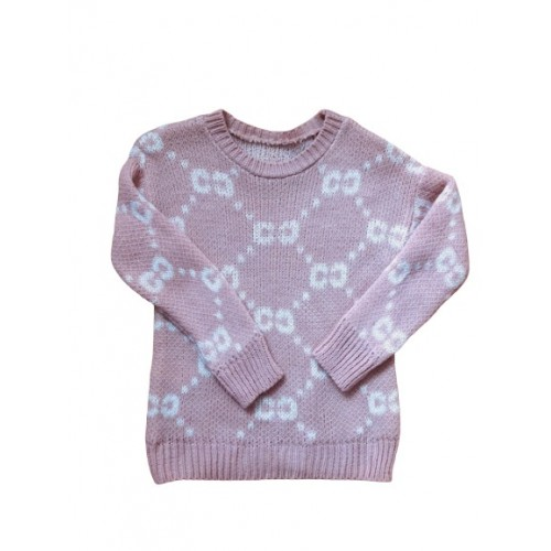 GIRLS PINK CC JUMPER